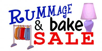 rummage and bake sale